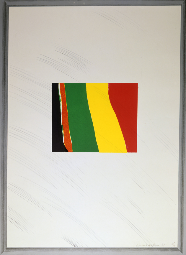 "Image of Picture of a Pointless Abstraction Framed Under Glass from ""A Hollywood Collection"""