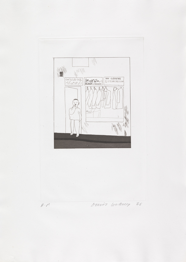 """Image of To Remain from """"Illustrations for Fourteen Poems from C.P. Cavafy"""""""