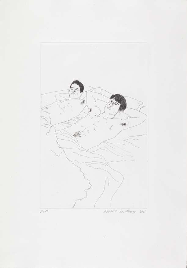 """Image of In Despair from """"Illustrations for Fourteen Poems from C.P. Cavafy"""""""