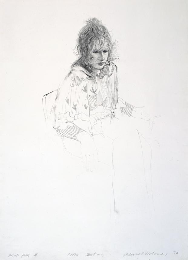 Image of Celia Smoking
