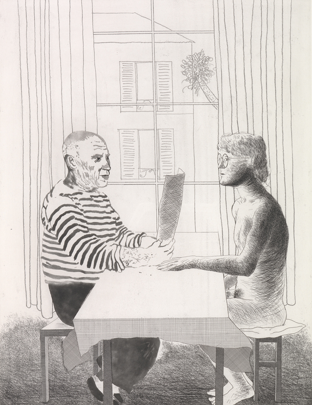 Image of Artist and Model
