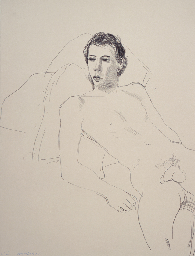 Image of Gregory Reclining