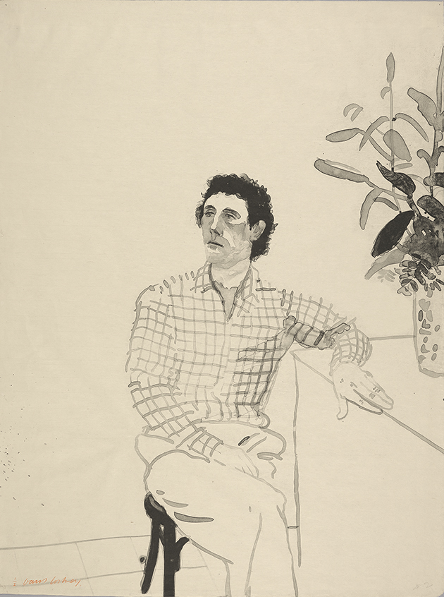 Image of Maurice with Flowers