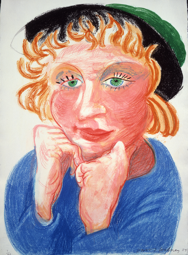Image of Celia with Green Hat