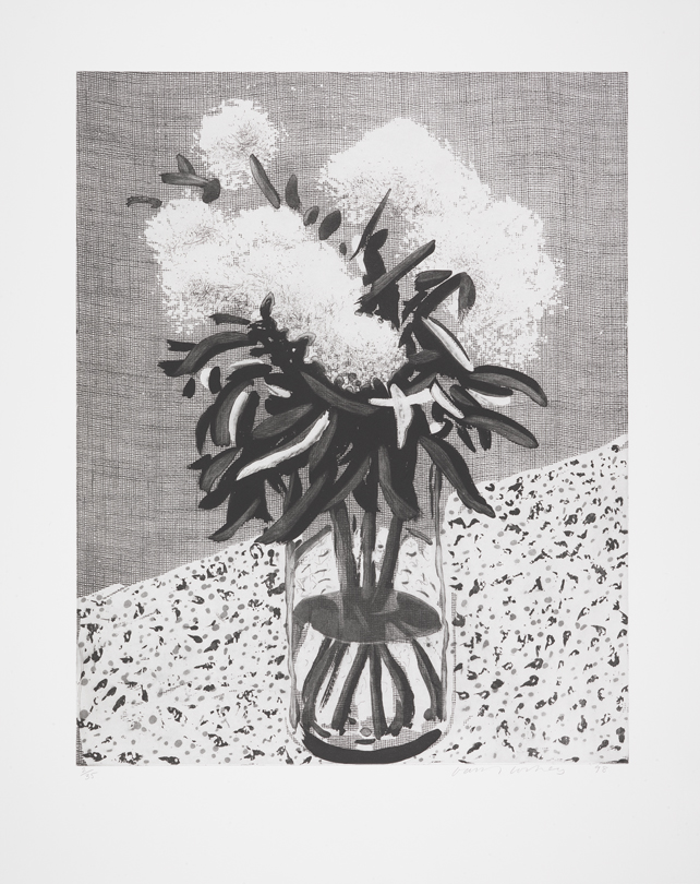Image of Peonies in a Glass Vase