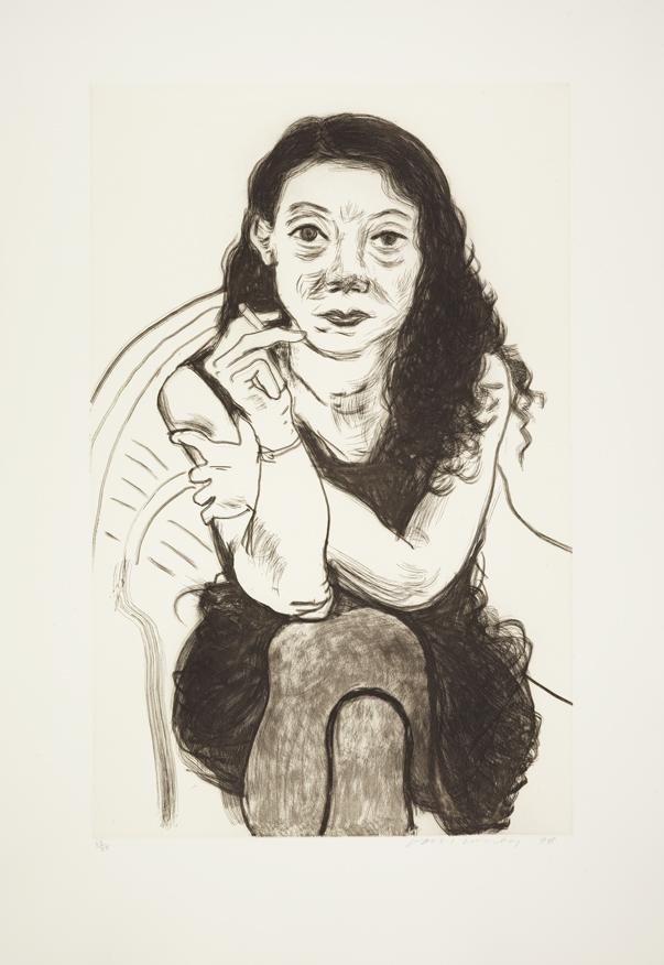 Image of Brenda with Cigarette