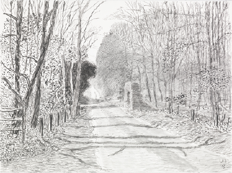 """Image of Woldgate, 3 May from """"The Arrival of Spring in 2013 (twenty thirteen)"""""""