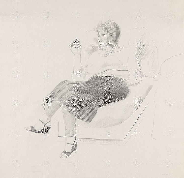 Image of Celia with Cigarette