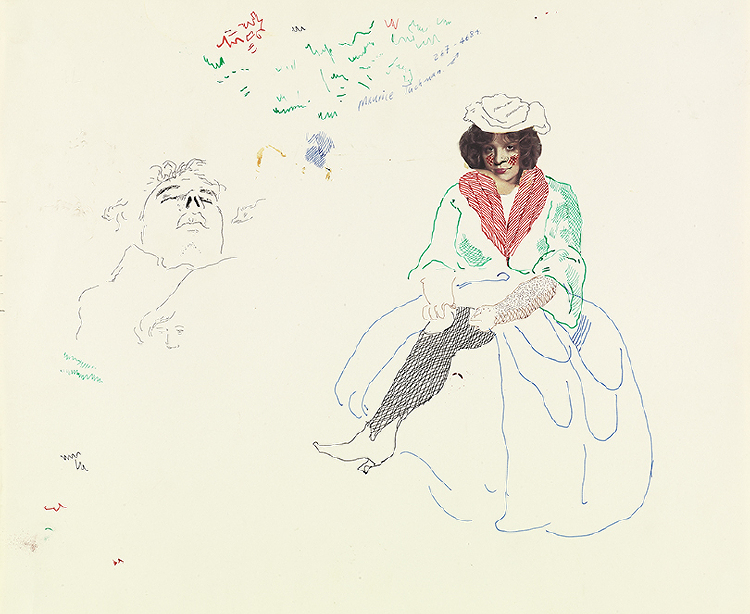 """Image of Study for Mother Goose from """"The Rake's Progress"""""""