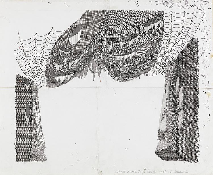 "Image of Cobweb Drape, Tom's House from ""The Rake's Progress"""