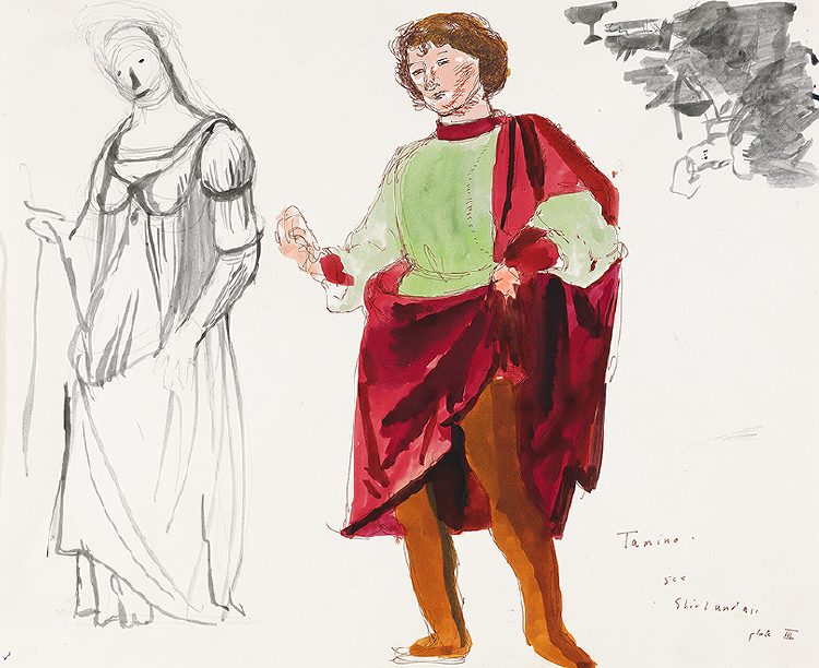 "Image of Tamino from ""The Magic Flute"""