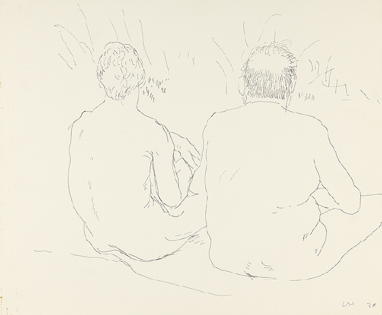 Image of Henry and Eugene Nude