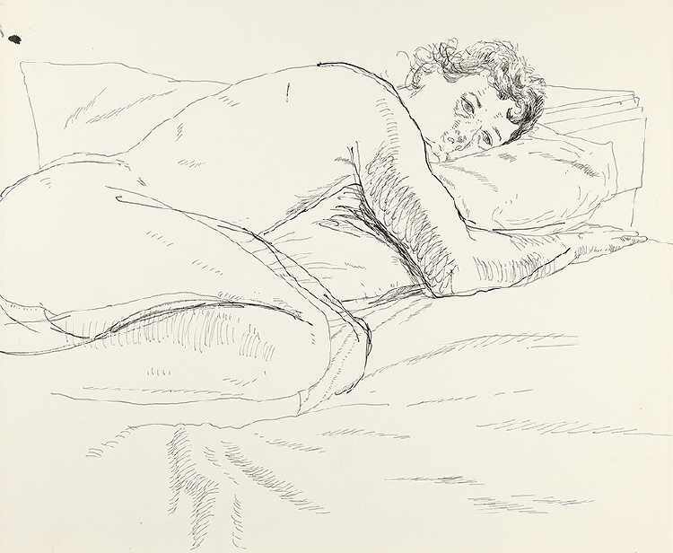 Image of Gregory Reclining Nude
