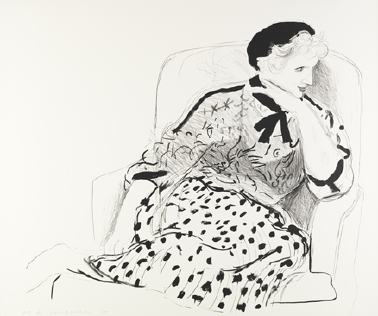 Image of Celia in an Armchair