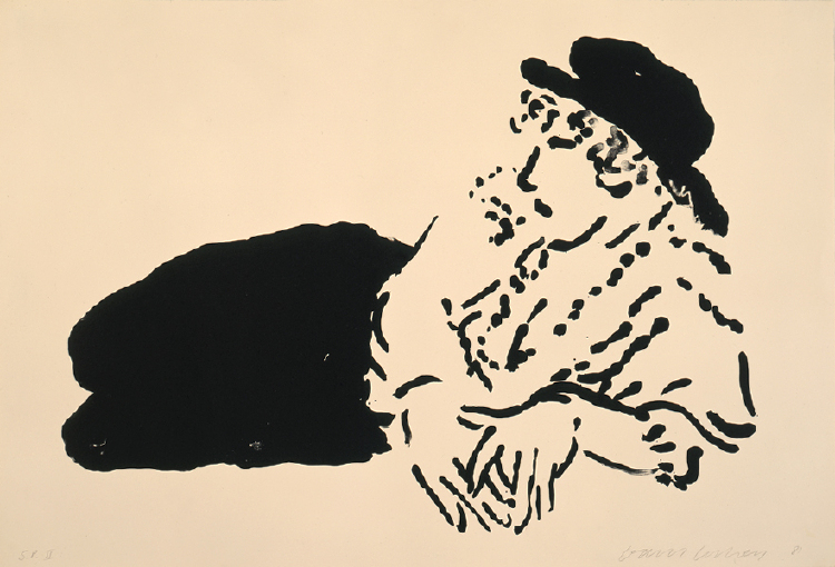 """Image of Celia (La Bergère) from """"Eight Lithographs To Benefit The Foundation For Contemporary Performance Arts, Inc. (Portfolio Of 8 Artists)"""""""