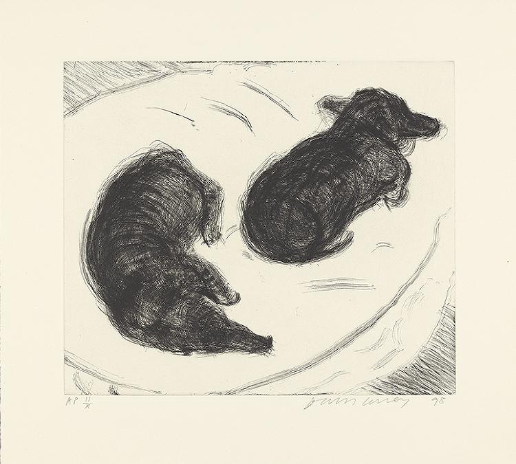 Image of Dog Etching No. 2