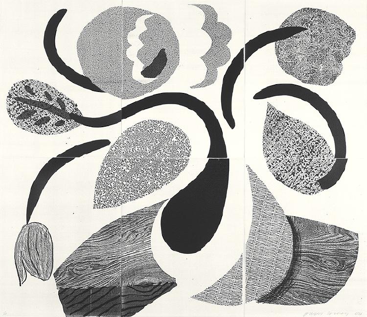 Image of Dancing Flowers, May 1986