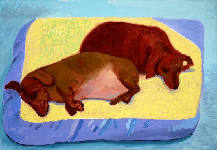 Image of Dog Painting 13