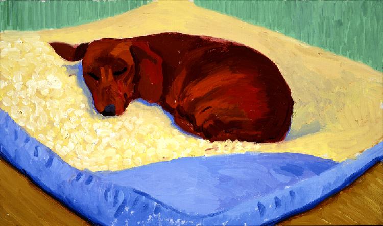 Image of Dog Painting 17