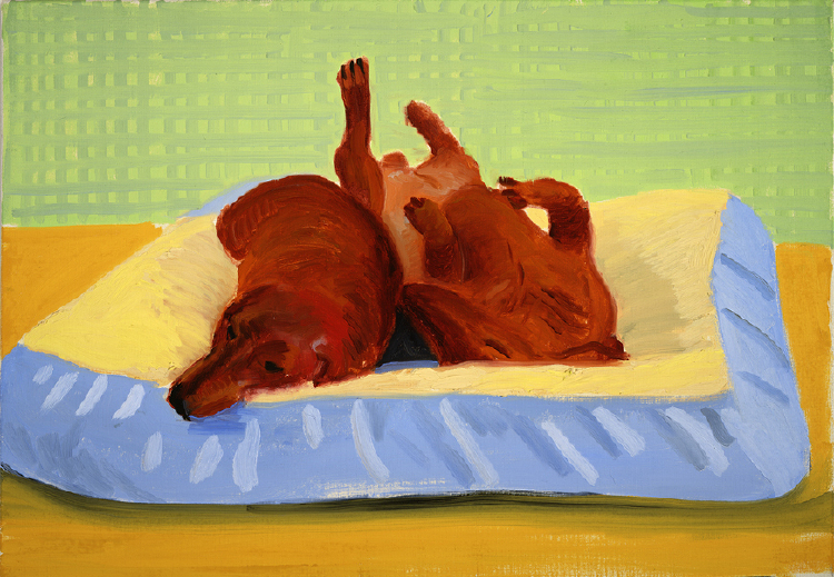 Image of Dog Painting 25