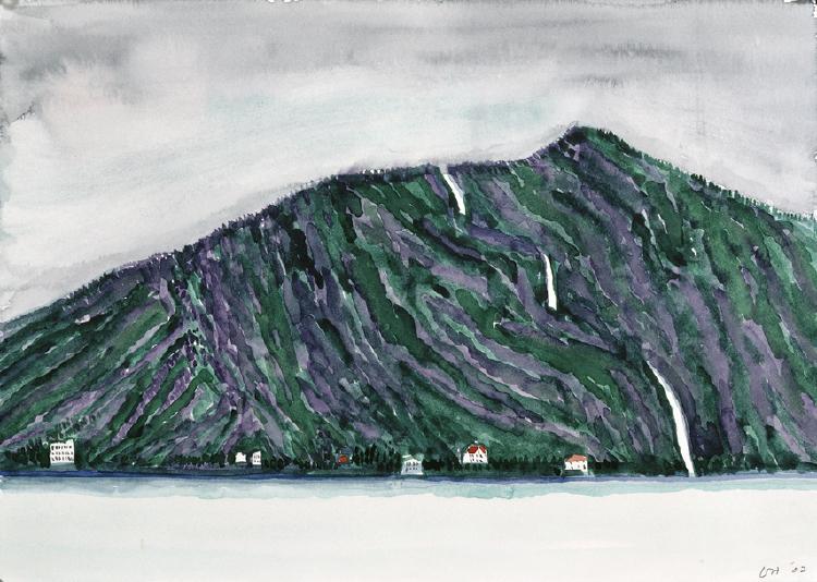 Image of Waterfall. Sojnefjord
