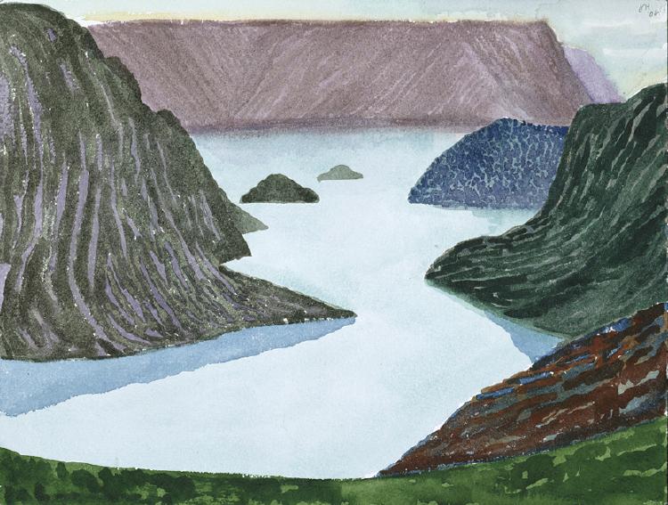 Image of Fjord. Kamoyvaer