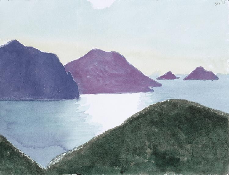 Image of Tufjorden from near Nordkapp