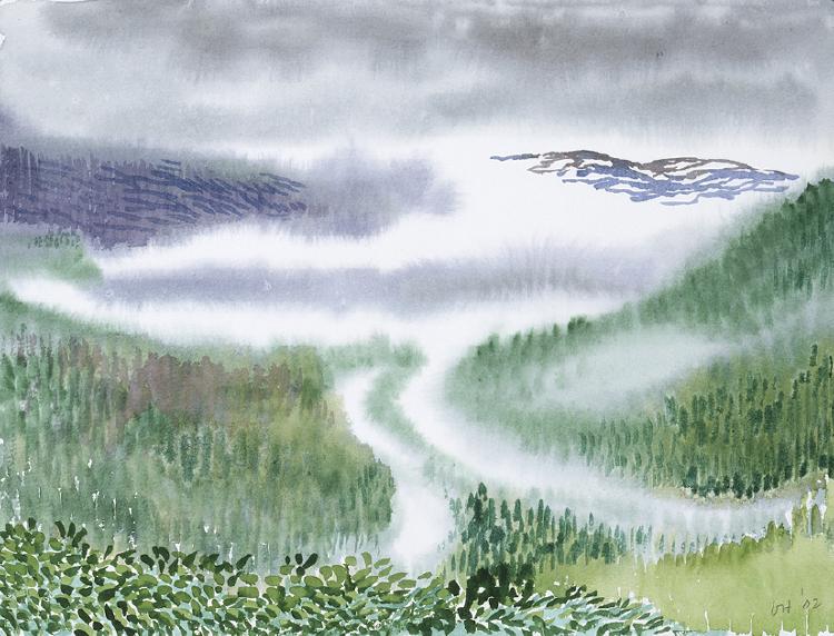 Image of Mist. Stalheim