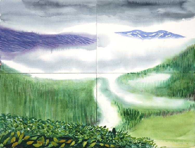 Image of Mist. Stalheim. I