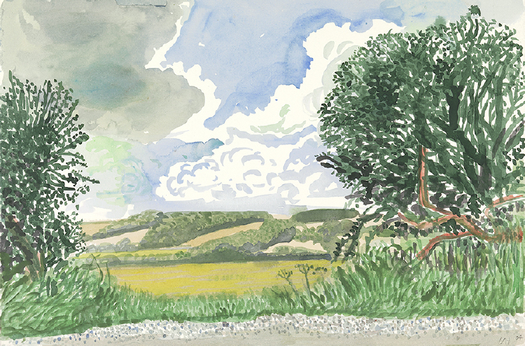 "Image of Looking North. East Yorkshire from ""Midsummer: East Yorkshire"""