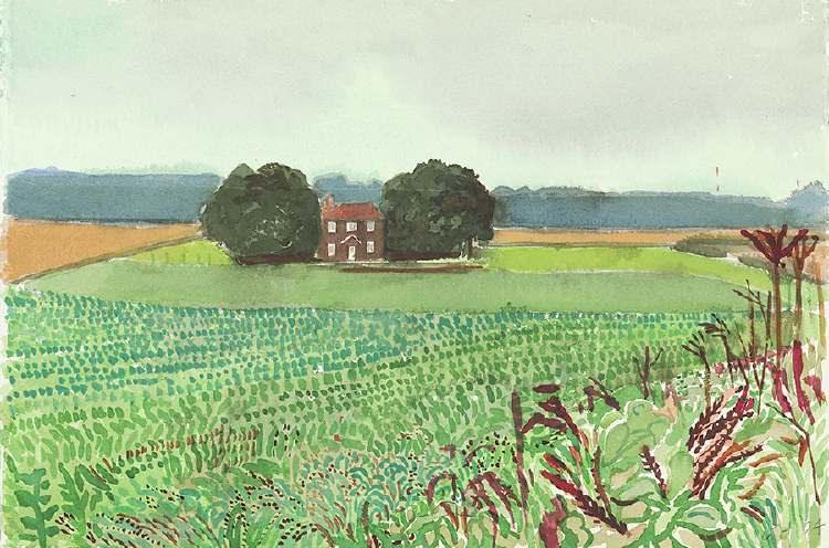 "Image of The Red House from ""Midsummer: East Yorkshire"""