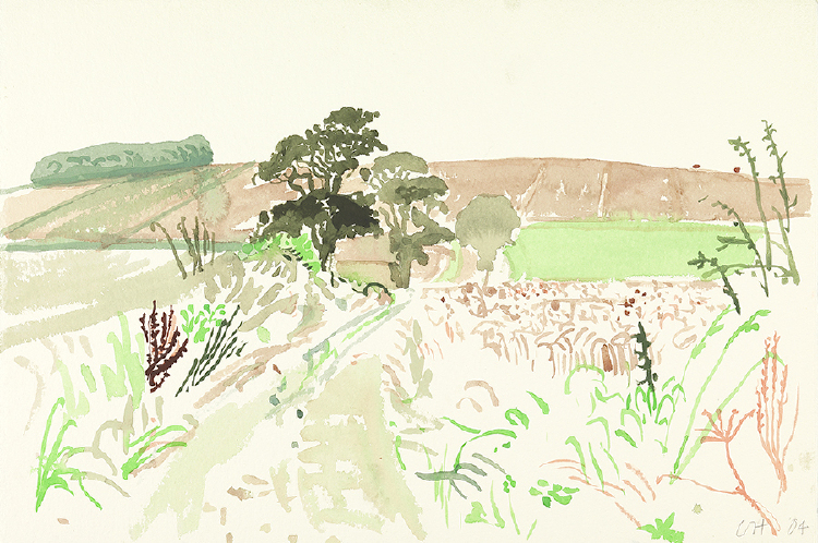 "Image of Landscape with Tangled Bank. East Yorkshire from ""Midsummer: East Yorkshire"""