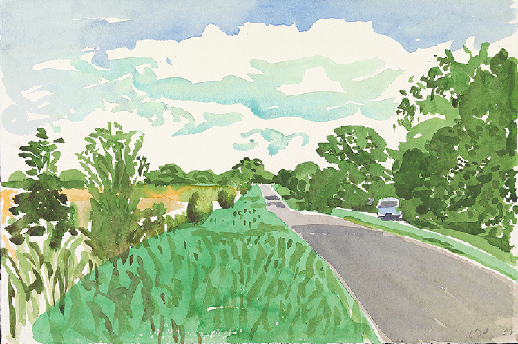 "Image of Rudston Road, East Yorkshire. Late Summer. from ""Midsummer: East Yorkshire"""