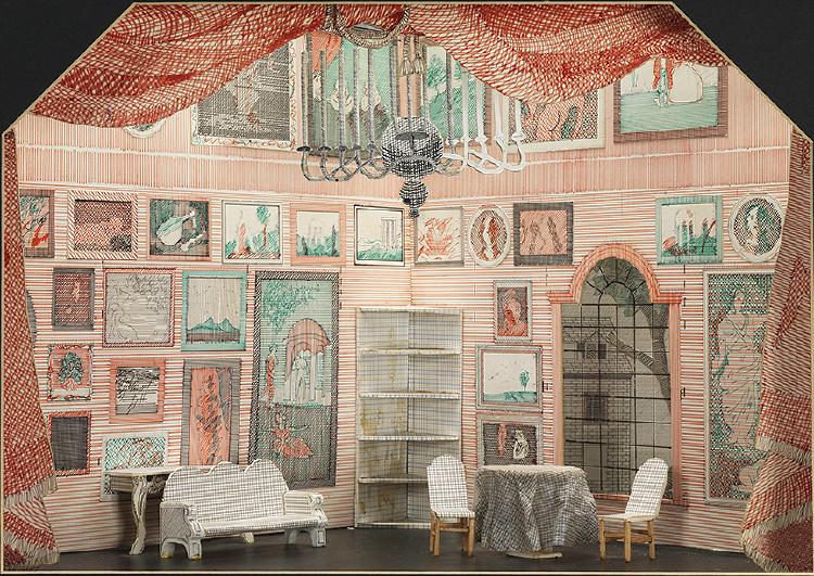 "Image of Tom's Room from ""The Rake's Progress"""