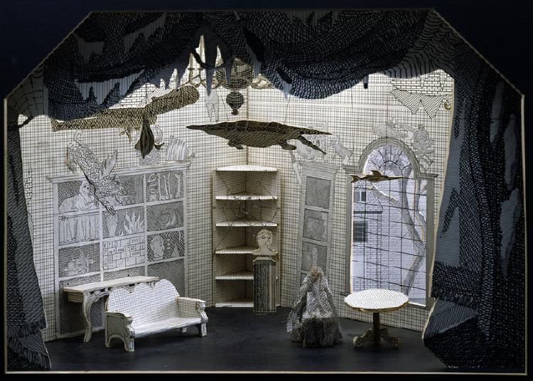 "Image of Tom's Room, Auction Scene from ""The Rake's Progress"""