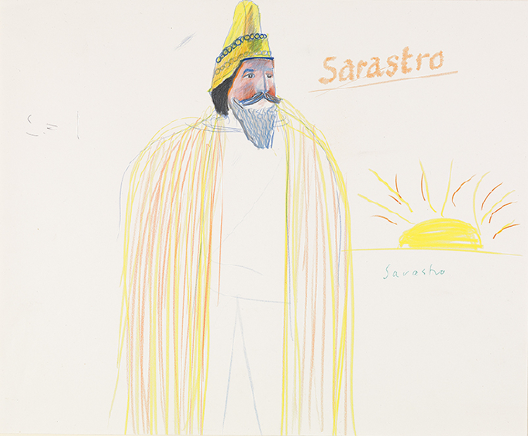 "Image of Sarastro from ""The Magic Flute"""