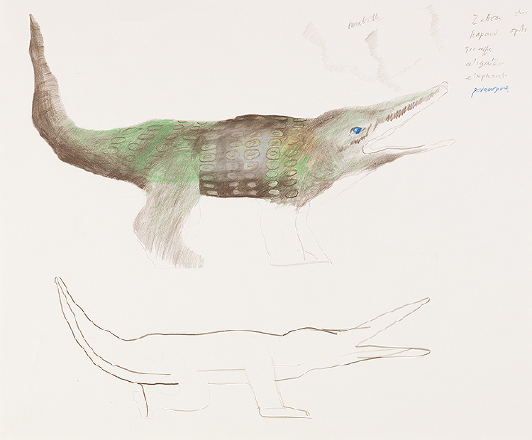 "Image of Crocodile from ""The Magic Flute"""