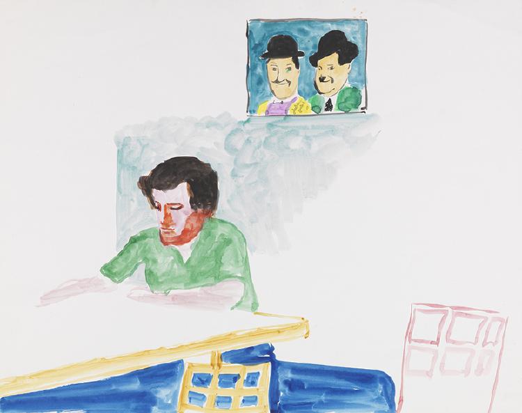 Image of Paul Hockney Reading