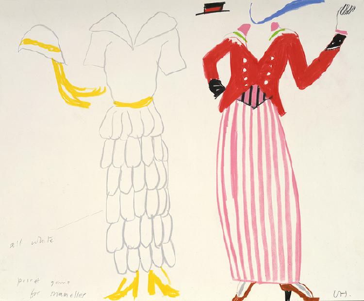 """Image of Poiret Gowns from """"Les mamelles de Tirésias"""""""