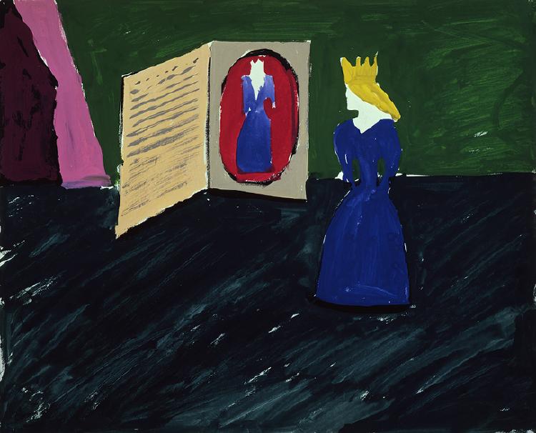 "Image of Princess with Book (2nd Version) from ""L'enfant et les sortilèges"""