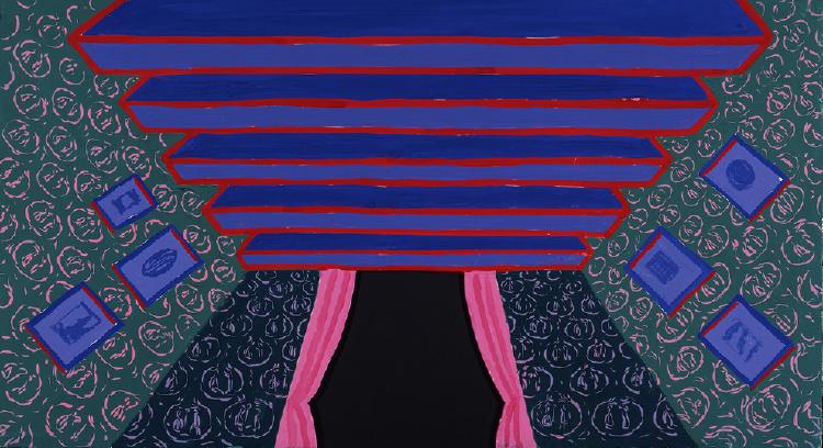 """Image of The Room from """"L'enfant et les sortilèges"""""""