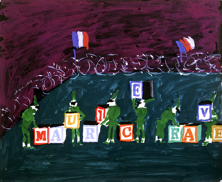 "Image of Punchinellos Changing Blocks from ""L'enfant et les sortilèges"""