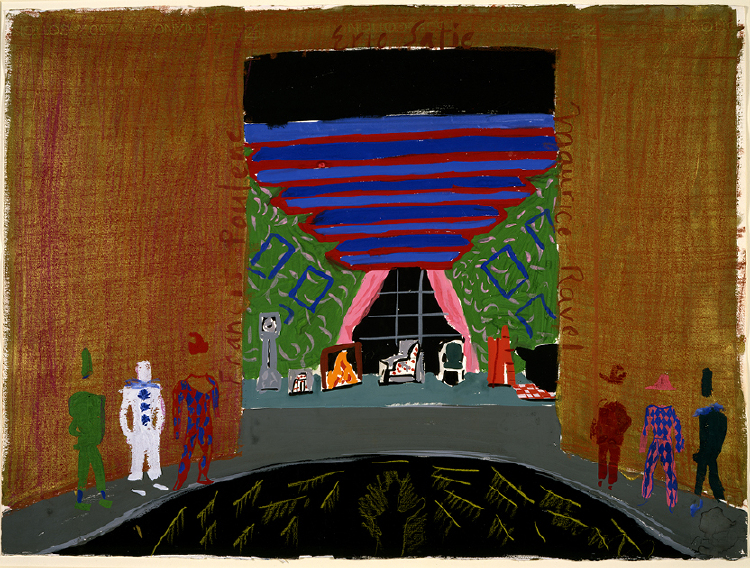 "Image of The Room with Singers from ""L'enfant et les sortilèges"""