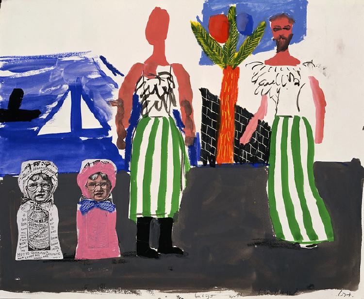 "Image of Babies with Husbands from ""Les mamelles de Tirésias"""