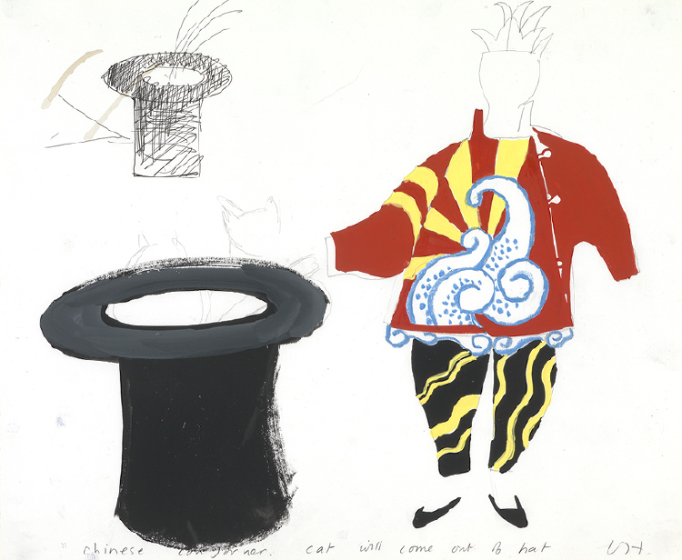 """Image of Chinese Conjuror from """"Parade Triple Bill"""""""