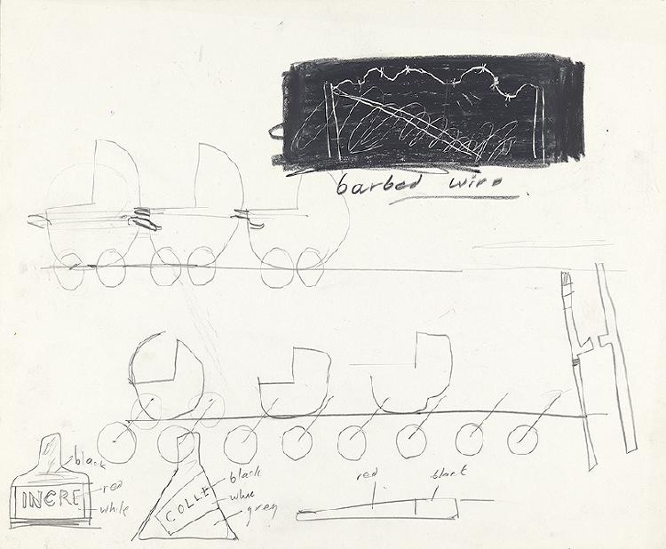 """Image of Studies for Props from """"Les mamelles de Tirésias"""""""