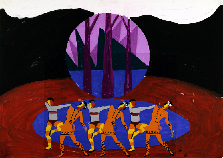 "Image of Superimposed Figures VII from ""Le Sacre du printemps"""