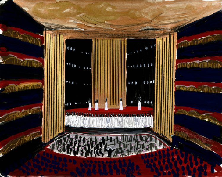"Image of Auditorium from ""Oedipus Rex"""