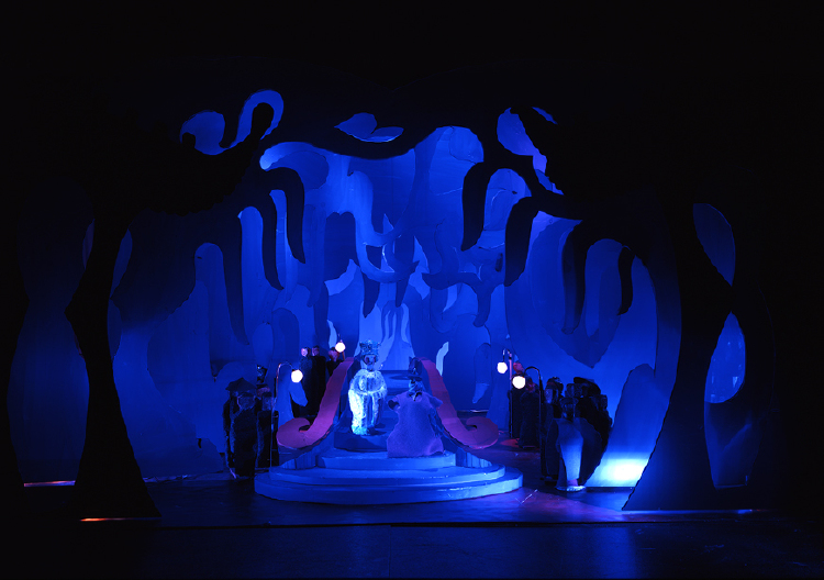 """Image of Act III, Scene I, 1 1/2"""" Scale, Final Version from """"Turandot"""""""