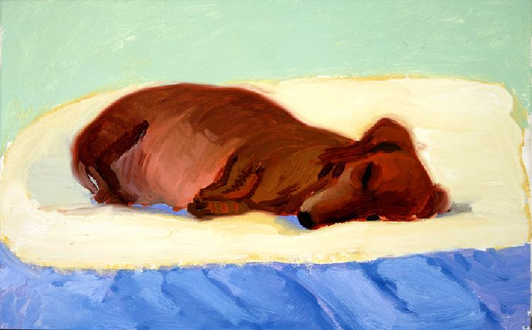 Image of Dog Painting 8